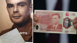 Who was Alan Turing? Meet the new face of the £50 bank note