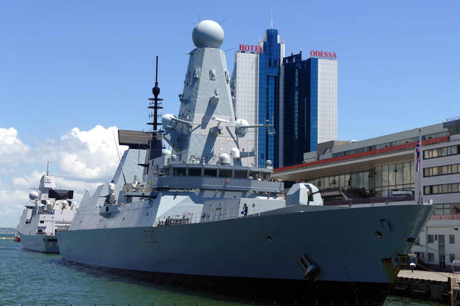 HMS Defender has visited Ukraine