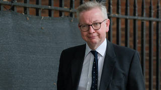 Michael Gove has been accused of misusing emergency Covidfunds