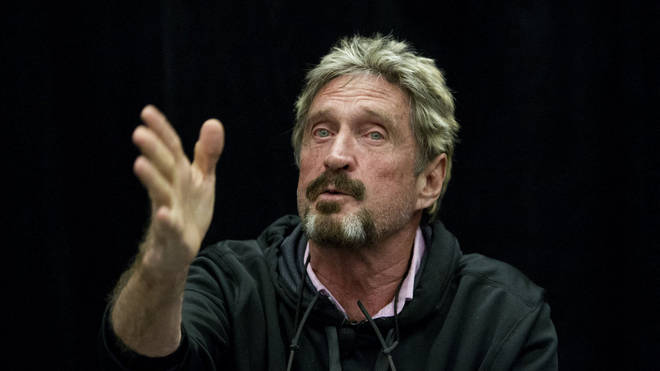McAfee was likely set for extradition to the United States