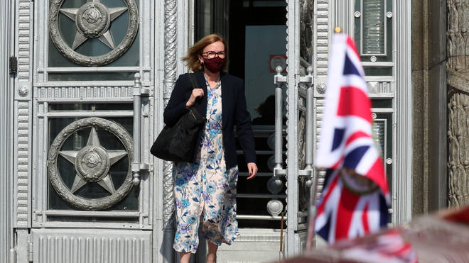 British ambassador Deborah Bronnert was summoned to the ministry of foreign affairs in Moscow after Russia accused the Type 45 destroyer of straying into its territorial waters