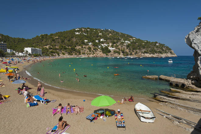 Party island Ibiza is amongst the new destinations that are on the UK's green list.