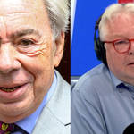Lord Lloyd Webber speaks exclusively to Nick Ferrari this morning