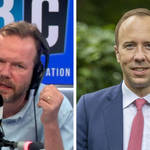 'Hancock's unsackable': James O'Brien reacts to pictures of him kissing his aide