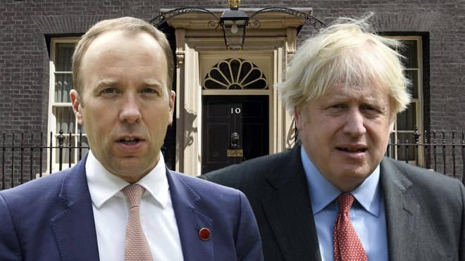 The Prime Minister is standing by Matt Hancock