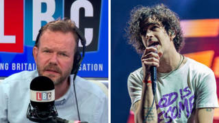 The 1975's Matty Healy calls James O'Brien to condemn PM's 'vilification' of the arts