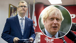 Sir Jeffrey Donaldson: PM hasn't delivered Brexit promises to Northern Ireland