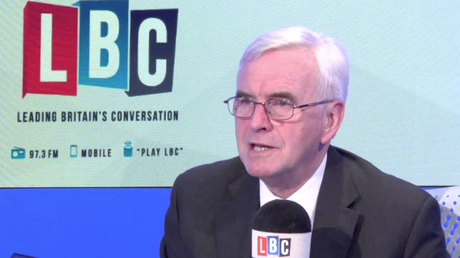 John McDonnell joined Iain Dale on Tuesday evening