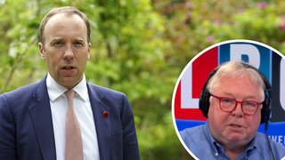Nick Ferrari hit out at the former Health Secretary and the PM
