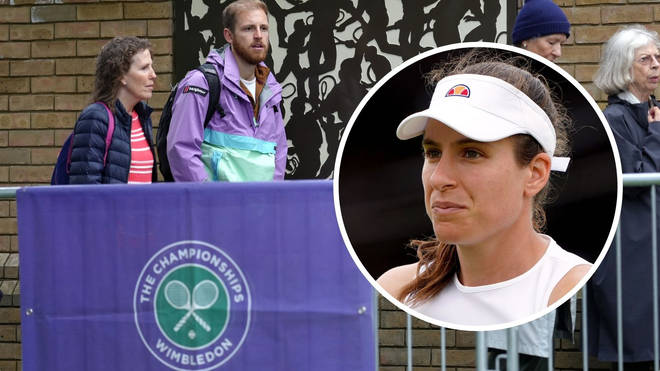 Terrible weather and Covid-19 have made for a bumpy start to Wimbledon 2021