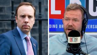 'Enough is enough' caller tells James O'Brien on Hancock resignation