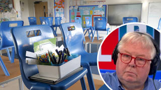 Nick Ferrari hit out at the plans which see hundreds of students forced to isolate