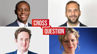 Cross Question with Iain Dale: 28/06 Watch live from 8pm
