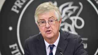 """Mark Drakeford said Westminster often acts in """"an aggressively unilateral way"""""""