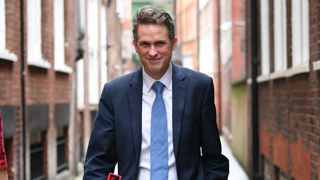 Gavin Williamson said he wants to make the school day mobile-free