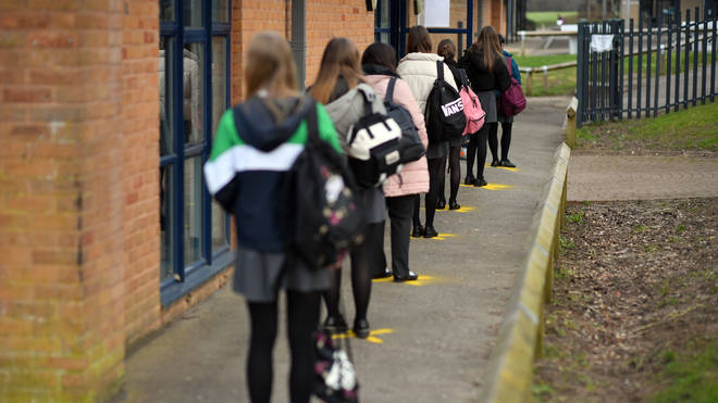 Ministers are planning to change isolation rules for schools in England