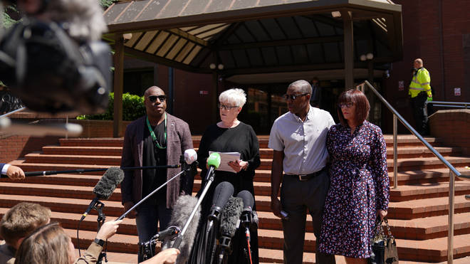 Dalian Atkinson's family read out impact statements in court