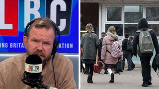 'No wonder we don't hear about other countries': James O'Brien on Austria's Covid policy