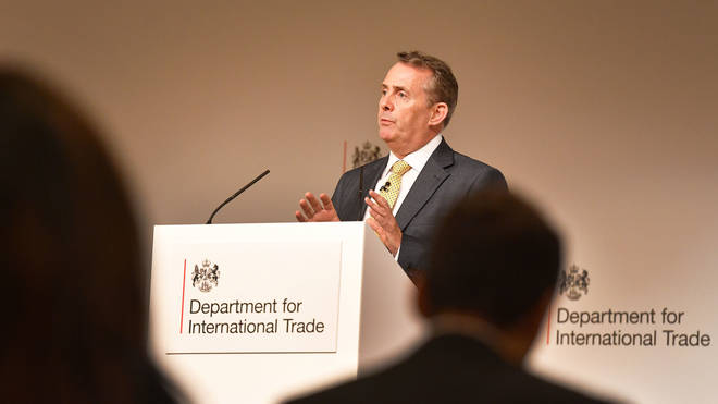 Dr Liam Fox, the International Trade Secretary