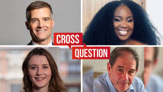 Cross Question with Iain Dale 30/06: Watch LIVE from 8pm