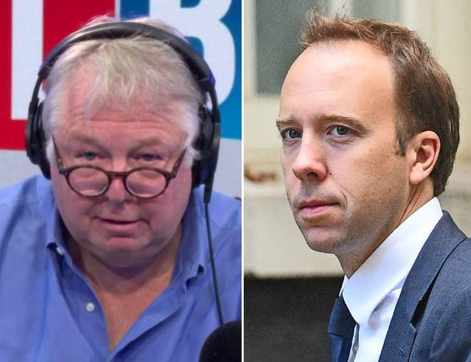 Nick Ferrari grilled Matt Hancock over the deal