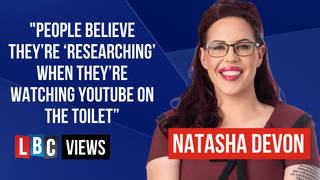 LBC Views: Why the Chris Whitty video left me so dismayed, writes Natasha Devon