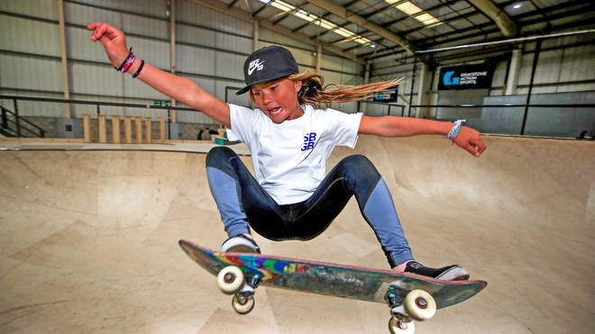 Sky Brown is the youngest ever member of Team GB competing in the summer Olympics.