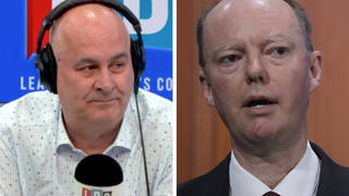 Caller labels employer's decision to sack man filmed accosting Chris Whitty as 'absolutely correct'