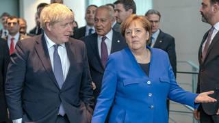 Boris Johnson and Angela Merkel will hold crunch talks on coronavirus travel restrictions between the UK and Germany