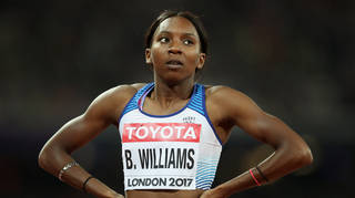 Athlete Bianca Williams and her partner were handcuffed outside their home last July