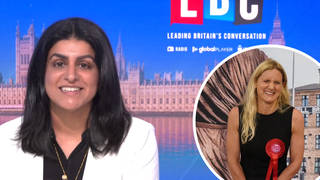 The Labour MP was speaking to LBC after a win for her party in Batley and Spen