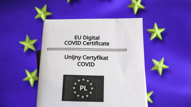 The certificate is also available in paper format