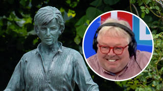 Diana statue is 'cleavage on stilts', says art critic