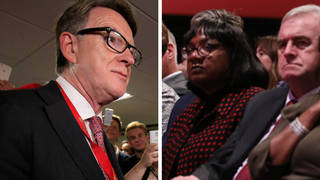 Diane Abbott and John McDonnell should stop 'trying to derail' Keir Starmer, says Lord Mandelson