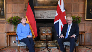 This is Angela Merkel's final trip to the UK before she steps down in her role as Chancellor.
