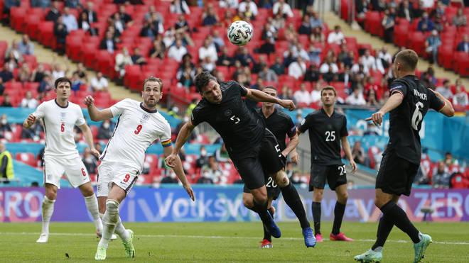 England beat Germany 2-0 at Wembley.