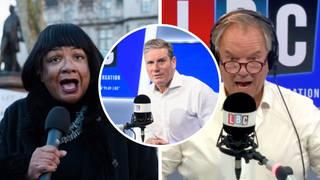 Diane Abbott grilled on her faith in Keir Starmer's Labour leadership