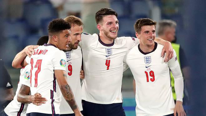 England thrash Ukraine to set up a semi-final clash with Denmark