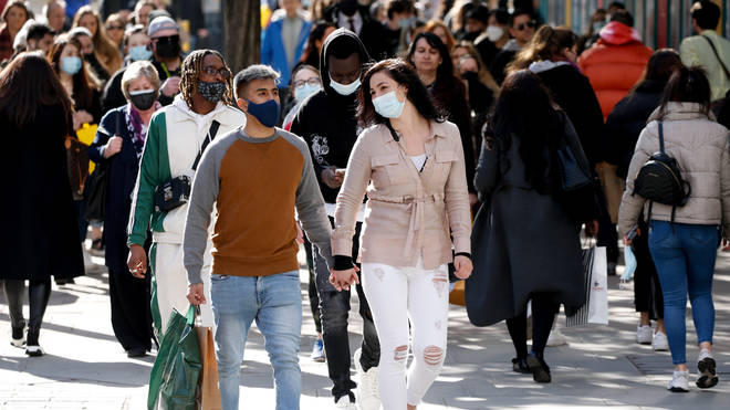 Face masks are set to become voluntary, according to reports