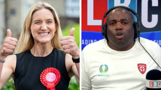 David Lammy's reaction to Labour's Batley and Spen victory