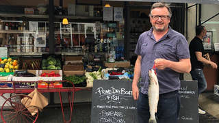Amazon apologised to fishmonger Robin Moxon over his advertising