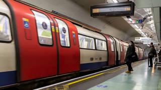 File photo of a London Underground station