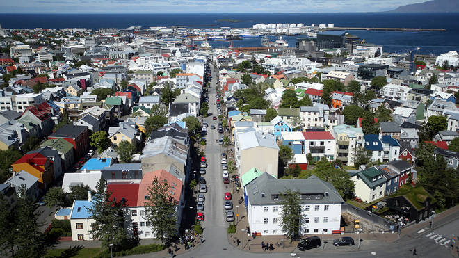 The four-day work week trial took place in Iceland.