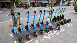 E-scooters will be available for hire in three more London boroughs.