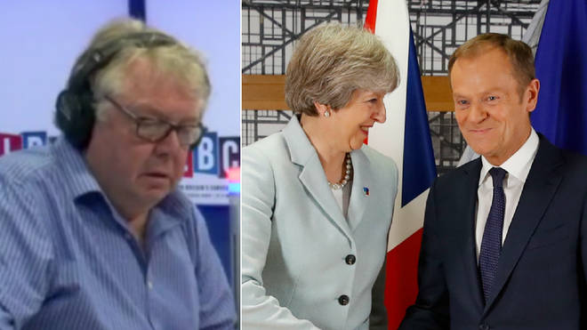 Nick Ferrari spoke to a strong critic of Theresa May over the EU