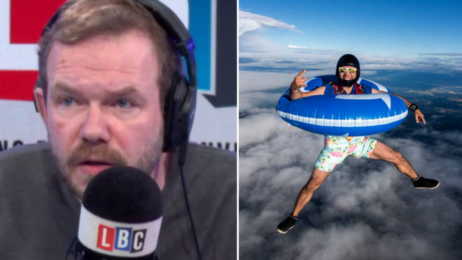 James O'Brien's call about jumping out of a plane without a parachute was remarkable