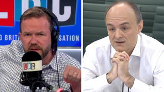 James O'Brien's instant reaction to Cummings' 'astonishing attack' on PM