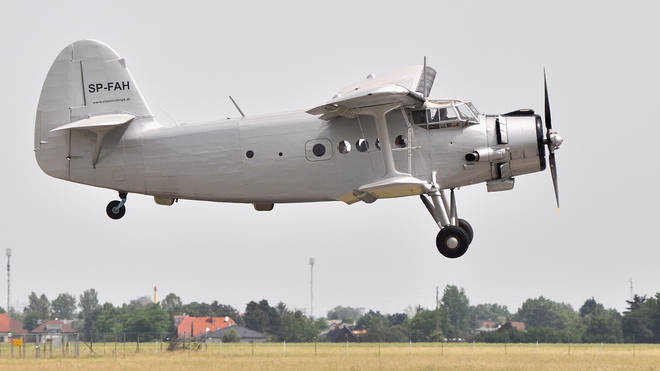 (File picture) An An-2 plane has crashed into the sea in Russia with 28 people on board