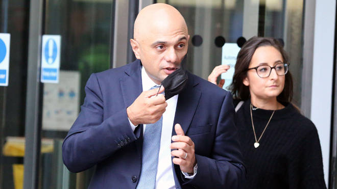 Sajid Javid announced major changes to self-isolation rules