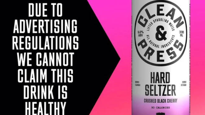 Brewdog's hard seltzer ad was banned over 'misleading health claims'